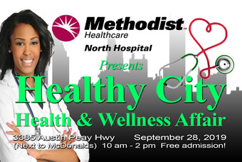 Healthy City 19 flyer front
